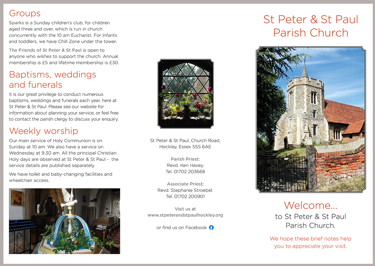 st peters church leaflet